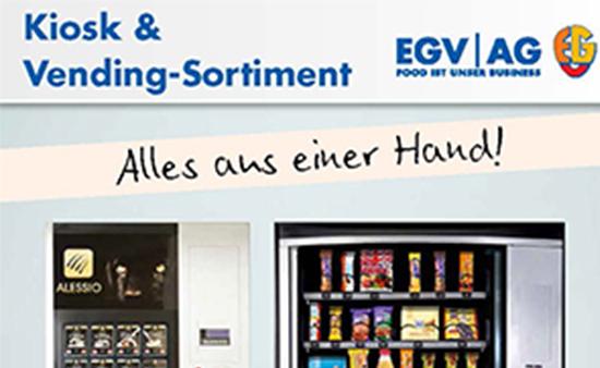 Kiosk & Vending-Sortiment